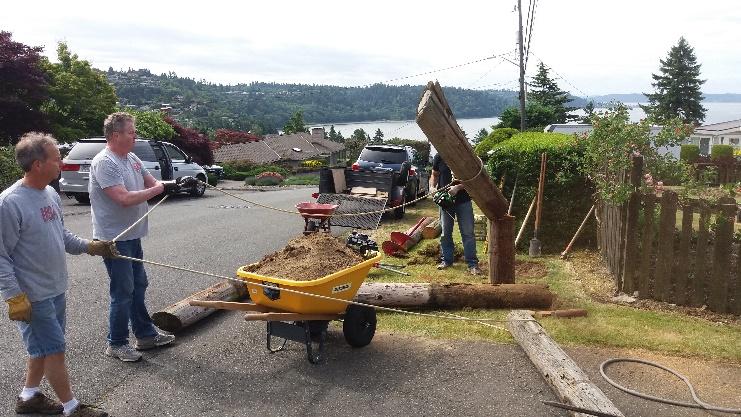 Replacing Shorewood Sign