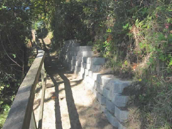 Beach Retaining Wall